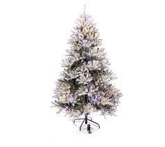Santas Best Pre Lit Douglas Fir Christmas Tree With Remote Control