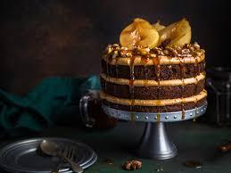 schokoladen rahm birnen torte