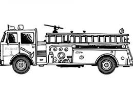 Image [ 7 Of 50 ] - Free Printable Fire Truck Coloring Pages Kids To ...