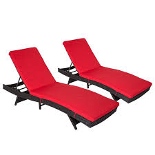 Kinbor 2-piece Outdoor Chaise Lounge Chair All-weather PE Rattan Wicker  Chaise Lounge Chair Furniture W/Cushions Chaise Lounge Chair Outdoor Wicker Rattan Couch Patio Fniture Wpillow Pool Ebay Yardeen 2 Pack Poolside Hubsch Contemporary Chairs Designer Lounges Wickercom Costway Brown Rakutencom Australia Elgant Hot Item With Ottoman Black Grey Modern Curved With Curve Arms Buy Chairrattan Chairoutdoor Awesome