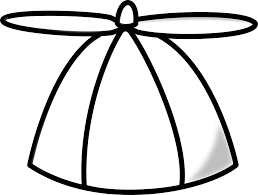 Cap Propeller Hat Cool Fan White Ventilator Air
