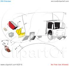 Clipart Illustration Of A Moving Truck Speeding Over A Hill ... Clipart Of A Grayscale Moving Van Or Big Right Truck Royalty Free Pickup At Getdrawingscom For Personal Use Drawing Trucks 74 New Cliparts Download Best On Were Images Download Car With Fniture Concept Moving Relocation Retro Design Best 15 Truck Stock Vector Illustration Auto Business 46018495 28586 Stock Vector And