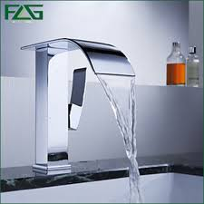Wall Mounted Waterfall Faucets For Bathroom Sinks by Bathroom Waterfall Faucet Moen Waterfall Faucet Waterfall