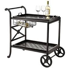 Flagstone Patio As Patio Furniture With Fancy Patio Serving Cart
