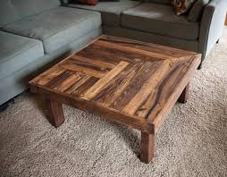 Pallet Wooden Coffee Table Design