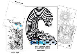 Cisco Artist Signature Series Coloring Book