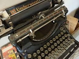 machine à écrire underwood photo de coups de coeur l orangerie