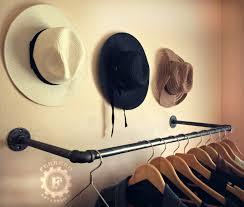 Decorative Metal Garment Rack by 35 Clothing Rack Steampunk Style Decor Garment Rack