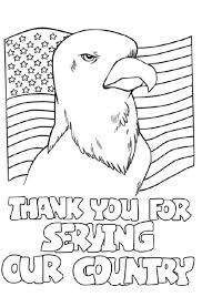Happy Veterans Day Clip Art Coloring Pages Printable Cards Intended For
