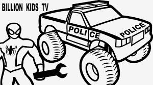 Amazing Advantages Monster Truck Coloring Pages   COLORING PAGE