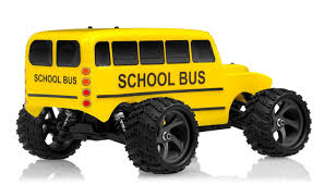 Amazon.com: Iron Track Electric Yellow Bus 1:18 4WD Truck Ready To ... Monster Truck School Bus 3d Model In Concept 3dexport Toy Cool Oversized Wheels Kids Gift For Higher Education Higher Education Pinterest Hot Jam Diecast 1 Pull Back Novelty Vehicles Jams Flips Over By Creator_3d 3docean 2016 Hot Wheels School Bus 124 Scale Monster Jam Bus Hdr Nothing Wrong With Riding The Short Flickr 2018 Calendar May 26th Elko Speedway