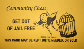 Monopoly Get Out Of Jail Free Card Printable Quality Images