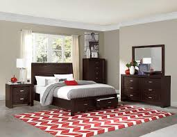 Bedroom Sets With Storage by Homelegance 2244 Breese Bedroom Set With Storage Bed Low