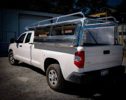 Custom Aluminum Truck Ladder Racks Pipe Rack For Flatbed Box And ...
