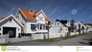 100 Homes For Sale In Norway Residential Street Mandal Stock Image Image Of House