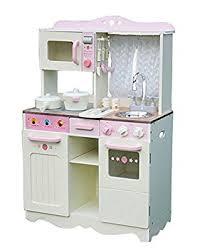 jouer a la cuisine cuisine enfants en bois jouer cuisine juliet crème amazon fr