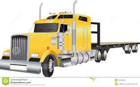 100 Articulated Truck Stock Vector Illustration Of Trailer 32548369