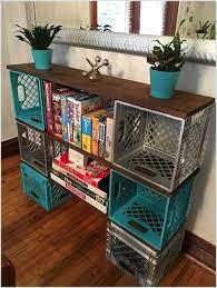 Crates For Storage Garage Wooden