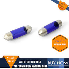 festoon c5w 12v 5w sv8 5 blue car t10 36mm bulb