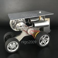 100 Micro Truck New Hot Air Stirling Engine Model Toy Motor Mini Car