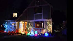 Alameda Christmas Tree Lane 2015 by Christmas Tree Lane Palo Alto 2014 Youtube