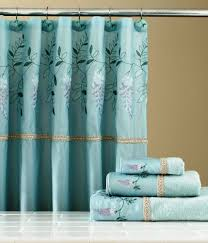 Blue And Brown Bathroom Decor by Curtain Bathroom Shower Curtain Sets Navy Blue And Coral