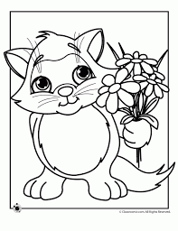 Kitten Coloring Page Best Of 20 Free Printable Pages Everfreecoloring