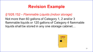 Flammable Liquid Storage Cabinet Grounding by Health Hazards U0026 Hazcom Ghs Ppt Video Online Download