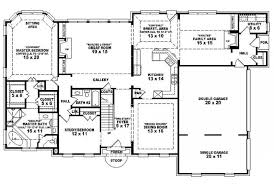 Pleasant Idea 6 Bedroom Home House Plans Two Story