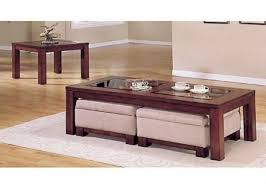 Coffee Table With Chairs Underneath by Coffee Table With Ottoman Seating Underneath Coffee Table Design
