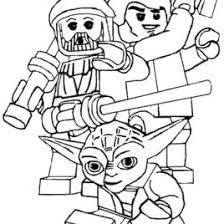 Lego Star Wars Coloring Page 5601