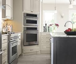 light gray kitchen cabinets gray island