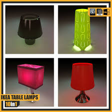 Fillsta Lamp 3d Model by Ikea Table Lamps 10 Different Lamps 3d Model