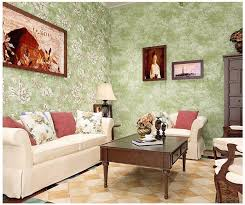 großhandel american style tapete vintage blume 3d rustikal wand papier für wände nichtgewebte tapete für wohnzimmer grün floral paper sweethomes