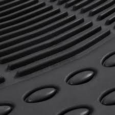 Amazon Prime Car Floor Mats by Amazon Com Bdk All Weather Black Rubber Floor Mats For Car Suv