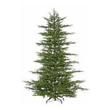 Christmas Tree Shop Return Policy by 7 5 Ft Pre Lit Led California Cedar Artificial Christmas Tree