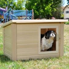 Eco Rustic Lodge Dog House