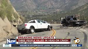 100 Valley Truck Center 3 Dead One Person Flees Scene After Headon Collision In