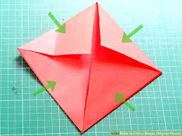 Image Titled Fold A Simple Origami Flower Step 4