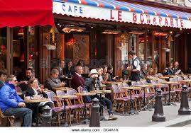 bureau de change germain des pres cafe seats stock photos cafe seats stock images alamy