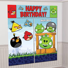Scene Setters Halloween by Party Banner Wall Scene Setter Angry Birds U2013 Party Majors