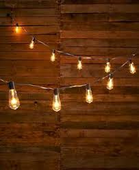 Edison Style Bulb String Of Lights