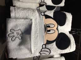 Mickey And Minnie Mouse Bath Decor by Disney Bathroom Accessories Found At Walt Disney World Resort