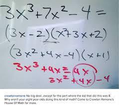 Online Algebra Tiles Factoring by Crewton Ramone U0027s Blog Of Math Third Power Algebra With Little Kids