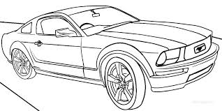 Sports Car Coloring Pages To Print Bold Ideas Page Peachy Design Cars