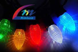 minleon led lighting products temple display