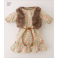Simplicity Doll Clothes 8282ONE SIZE Walmartcom