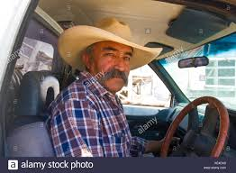 100 Truck Auctions In Texas Cowboy In Pickup Truck Attending Livestock Auction In Muleshoe