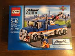 LEGO CITY TOW TRUCK 60056 RETIRED 227 PIECES NEW SEALED COMPLETE – Lego