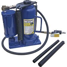 100 Ait Trucking Stronghold 12Ton AirHydraulic Bottle Jack Model TH412009Q